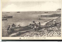 CPA  Arcachon - Le Moulleau - Enfants Sur La Plage - Non Circulée - Arcachon