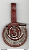 Insigne 3ème Régiment De Chasseurs D'Afrique - Période AFN - Drago Rue Olivier Metra - Esercito