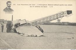CPA Les Pionniers De L'air - L'Aéroplane Blériot Abimé Après Une Chute - Non Circulée - Altri