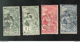 Lot Timbres Suisses UPU Oblitérés - 1882-1906 Armoiries, Helvetia Debout & UPU