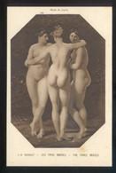*J.-B. Regnault - Les Trois Graces* Musée Du Louvre. Ed. Braun & Cie. Nº 10769. Nueva. - Pintura & Cuadros