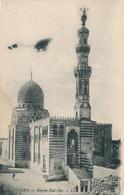 223/27 - EGYPTE Carte-Vue Du CAIRE Avec Repiquage AVION - Meeting D' Aviation D' HELIOPOLIS 1910 - Égypte