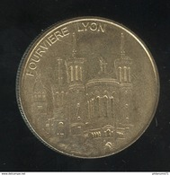 Jeton Touristique ( Cathédrale De ) Fourvière Lyon - Médaille Et Patrimoine - 2012 - Touristiques
