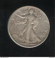 Half Dollar Etats Unis / United States 1943 TTB+ - 1916-1947: Liberty Walking