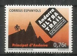 L'Andorra Ultra Trail Vallnord. Un T-p Neuf **. Année 2014 - Andorra Spagnola