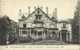 "CPA De VILLERS SUR MER - Villa ""Les Bucailly"" - Façade Principale. - Villers Sur Mer"