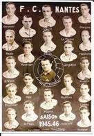 FOOTBALL CLUB DE NANTES - EQUIPE FCN - 1945 - 1946 - Football