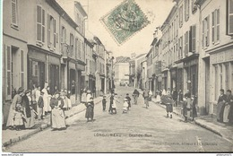 CPA  Longjumeau - Grande Rue -  Circulée 1907 - Longjumeau