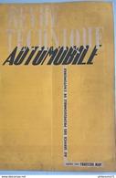 Revue Technique Automobile Mars 1949 ( RTA ) - Tracteur MAP - Voir Photo Du Sommaire - Auto