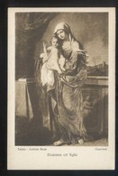 *Guercino - Madonna Col Figlio* Torino, Galleria Reale. Ed. Braunner & Co. Nº 12268. Nueva. - Pintura & Cuadros