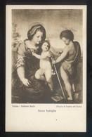 *Andrea Del Sarto - Sacra Famiglia* Torino, Galleria Reale. Ed. Braunner & Co. Nº 12271. Nueva. - Pintura & Cuadros