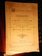 8a) CALENDARIO MENSILE 1885 FOGLI STACCATI DA APPENDERE 14 X 22 Cm COMPLETO DI TUTTI I MESI - Calendari