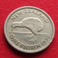 New Zealand 1 Florin 1950  Nova Zelandia Nuova Zelanda Nouvelle Zelande #2 XFºº - New Zealand