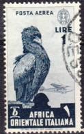 1938 - AOI - Posta Aerea - Usato - Eastern Africa