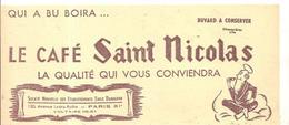 Buvard Le Café Saint Nicolas La Qualité Vous Conviendra - Café & Thé