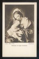 *Sassoferrato - Madonna Col Figlio...* Torino, Museo Civico. Ed. Braunner & Co. Nº 12226. Nueva. - Pintura & Cuadros