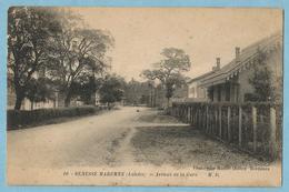 A060  CPA  BENESSE MAREMNE  (Landes)  Avenue De La Gare  +++++++ - Other Municipalities