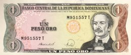 Dominican Republic 1 Peso, P-126c (1988) - UNC - Dominicaine