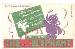 Buvard Thé De L'éléphant FORCE ET BONTE - Café & Thé