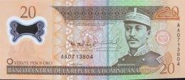 Dominican Republic 20 Pesos, P-182 (2002) - UNC - Dominicaine