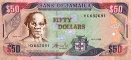 Jamaica 50 Dollars, P-79e (15.1.2004) - UNC - Jamaica