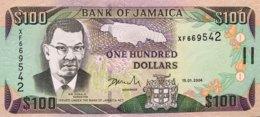 Jamaica 100 Dollars, P-80d (15.1.2004) - UNC - Jamaica