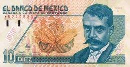Mexico 10 Nuevos Pesos, P-99 (10.12.1992) - UNC - Mexique