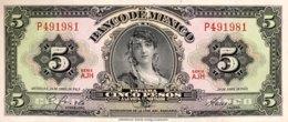 Mexico 5 Pesos, P-60h (24.4.1963) - UNC - Mexiko