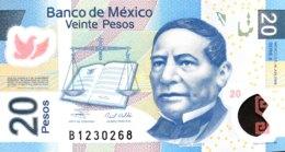 Mexico 20 Pesos, P-122c (19.6.2006) - UNC - Mexico
