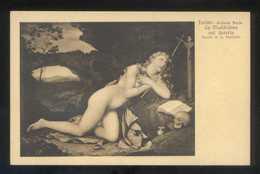*A. Constantin - La Maddalena...* Torino, Galleria Reale. Ed. Braunner & Co. Nº 12261. Nueva. - Pintura & Cuadros