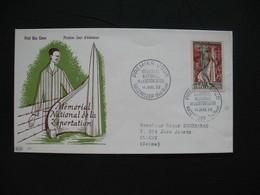 FDC  1956    N° 1050  Mémorial De La Déportation à Struthof   à Voir - FDC