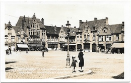 Nieuport NA52: Grand'Place Et Hôtel Belle Vue - Nieuwpoort