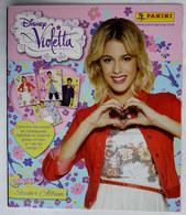 ALBUM D'IMAGES PANINI VIOLETTA 5 DISNEY Saison 3 2015 - VIDE Avec Son Poster Central - Trading Cards