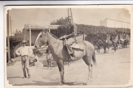 HOSTERIA. MUJER FEMME WOMAN & CABALLO CHEVAL HORSE. YEAR 1964 PHOTO ORIGINAL SIZE 13x9cm- BLEUP - Other