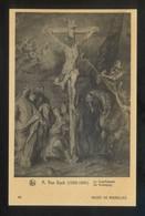 *A. Van Dyck - Le Crucifiement* Musée De Bruxelles. Ed. Nels Nº 93. Nueva. - Pintura & Cuadros
