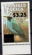 TRINIDAD AND TOBAGO, 2017, MNH, BIRDS,  OVERPRINT, 1v , SCARCE - Birds