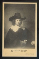 *Rembrandt - Portrait D'Homme* Musée De Bruxelles. Ed. Nels Nº 205. Nueva. - Pintura & Cuadros