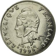 Monnaie, French Polynesia, 20 Francs, 1992, Paris, TTB, Nickel, KM:9 - Polynésie Française