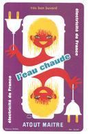 Buvard EDF Electricité De France L'eau Chaude ATOUT MAITRE - Electricité & Gaz