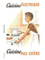 Buvard Cuisine électrique Cuisine Pas Chère - Electricity & Gas