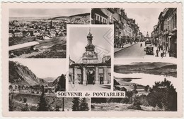Pontarlier (25) - Quelques Vues (Recto-Verso) - Pontarlier
