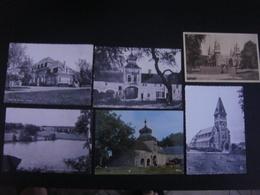 Lot De 6 Cartes De FAULX LES TOMBES ( Gesves ) ----- Château / Vivier / Château Arville / Ferme Abbaye Grandpré / Eglise - Gesves