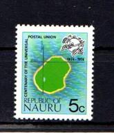 NAURU    1974    5c  Map  Of  Nauru    MNH - Nauru
