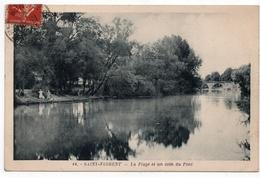 Saint Florent : La Plage Et Un Coin Du Pont (Edition Giraud, N°14) - Saint-Florent-sur-Cher