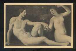 *Fr. Albani - Adam Et Eve...* Musée De Bruxelles. Ed. Nels Nº 4. Nueva. - Pintura & Cuadros
