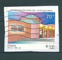2017  PICCOLO TEATRO MILANO  USATO - 6. 1946-.. Repubblica
