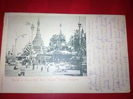 RANGOON SHRINE OF GREAT BELL SHWE DAGONE PAGODA - Inde