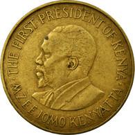 Monnaie, Kenya, 10 Cents, 1971, TTB, Nickel-brass, KM:11 - Kenya