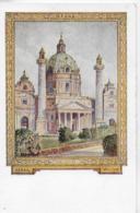 AK 0085  Wien - Karlskirche / Festpostkarte 10. Deutsches Sängerbundfest 1928 - Kirchen