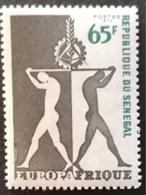 Senegal 1973 Europafrica  Issue - Senegal (1960-...)